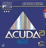 Tischtennis Belag Donic Acuda Blue Turbo P1, 2.00 mm, rot