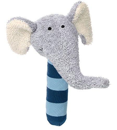 Sigikid niñas y niños, elefante Lolo Lombardo, Azul Stabquietsche