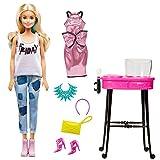 """Barbie DNR05 - Puppe und Spielset """"Freizeit- und Abendmode"""""""