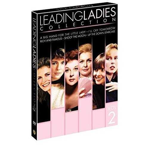 Leading Ladies Collection: A Big Hand For the Little Lady/I'll Cry Tomorrow/Rich and Famous/Shoot the Moon/Up the Down Staircase. 5 film 5 disc set by Joanne Woodward, Jacqueline Bsset, Candice Bergen, Diane Keaton, Sandy Dennis Susan Hayward -