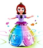 Toyshine Dancing Angel Girl Robot with Lights and Music (Multicolour)
