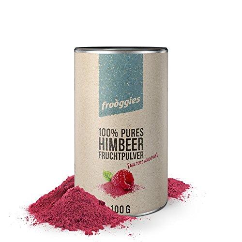 Himbeere frooggies Fruchtpulver, 100 g