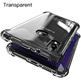Tarkan Vivo NEX Mobile Case - Shock Proof Protective Soft Transparent Back Cover [Bumper Corners with Air Cushion Technology] Crystal Clear