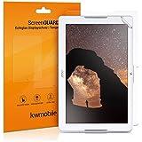 2x kwmobile film de protection pour écran Acer Iconia One 10 (B3-A30) TRANSPARENT. Qualité supérieure