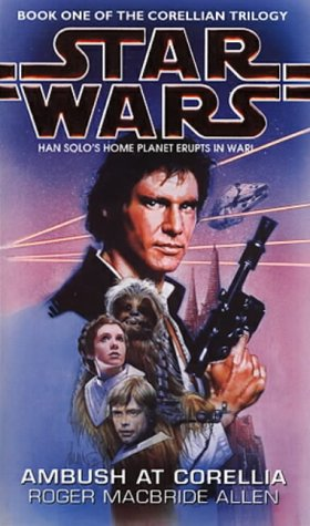 Cover of Ambush at Corellia (Star Wars: Corellian Trilogy 1)
