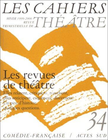 Cahiers de la Comédie Française 34