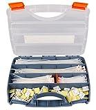 Kabelbinder und Klebesockel Set im Koffer, 700-Teiliges Sortiment