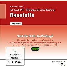 Prüfungs-Intensiv-Training Baustoffe
