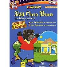 Coffret Petit Ours Brun - 2 titres (la journée de POB + les saisons de POB)