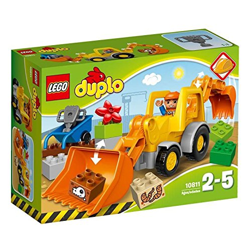 LEGO-10811-Duplo-Town-Backhoe-Loader-Construction-Set-Multi-Coloured