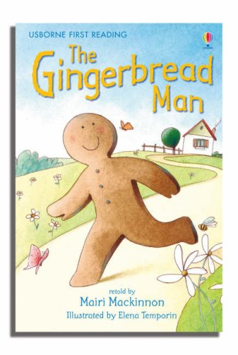 The gingerbread man. Ediz. illustrata: Level 3 (Usborne First reading)