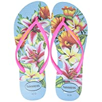 Havaianas Flip Flops Women Slim Floral