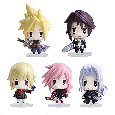 Figurines Final Fantasy - Mini set de 5figurines–Final Fantasy–Trading Arts