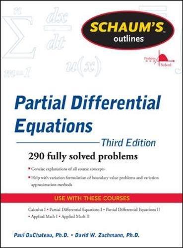 Schaum's Outline of Partial Differential Equations (Schaums' Outline Series)