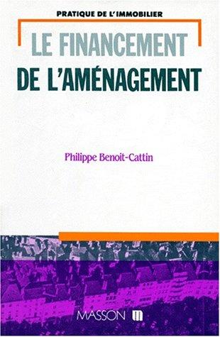 Le financement de l'aménagement par Philippe Benoit-Cattin