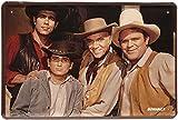 Bonanza Retro Blechschild Kultfilm 20 x 30 cm Deko Familie Cartwright