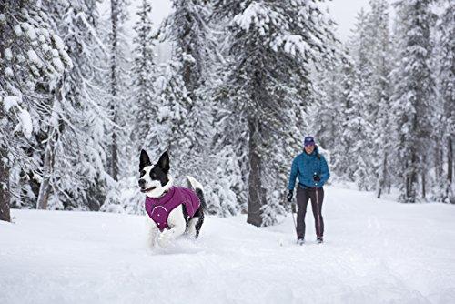 Ruffwear 05601-025L Quinzee Warme Hundejacke, L, grau - 3