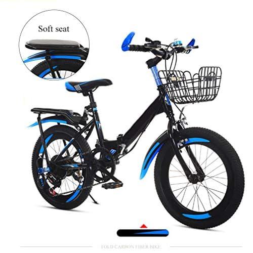 "51GZFn0YFJL. SS500  - SYCHONG 20"" Bike,Children Foldable Bike,Double V Brake,Suitable for Aged 8-10Height 125-145Cm Children"