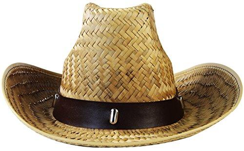 Seiler24 Rodeo Cowboy Hut für Erwachsene Karneval
