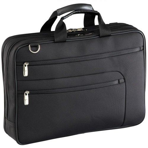 D&N Basic Laptoptasche 1680D Polyester 44 cm 17, schwarz Schwarz