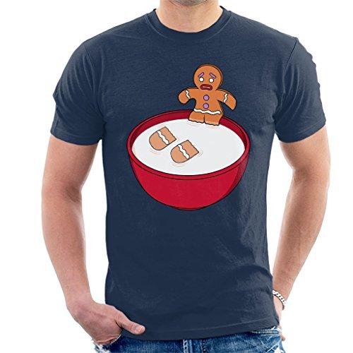 Shrek Gingerbread Man Milk Problems Men's T-Shirt Shrek Gingerbread