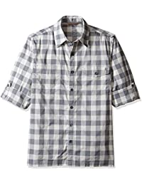 Woolrich Men's Performance Convertible Modern Fit Shirt