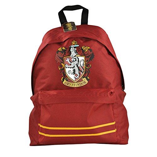 mochila de Harry Potter Gryffindor con cresta roja