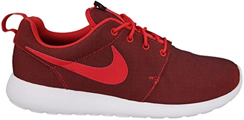 Nike Herren Roshe One Premium Sneaker  Schwarz und Weiß  44 EU