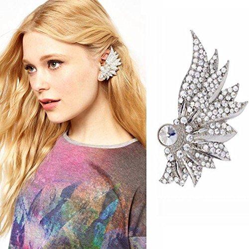 Hypoallergene Mode Ohrringe Offiziellen Website im Vollen Verkauf von Luxus-Diamant-Ohrringe Clip Ohrringe Schmuck , Wie gezeigt (Verkaufs-diamant-ohrringe)