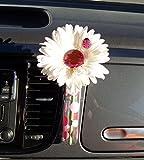 Bling My Bug WPVASE Käfer Blume, weiß und rosa Bling Daisy mit Universal Vase