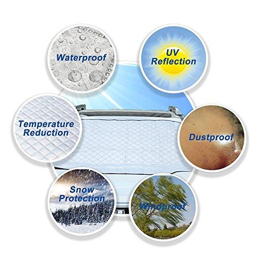 GZQ-parabrezza-parasole-parabrezza-auto-ghiaccio-neve-copertura-UV-Protector-in-tutte-le-stagioni-adatta-per-la-maggior-parte-dei-veicoli