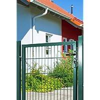 Plus de 50 EUR Koll Koll Koll Living Tapis portail de jardin pour pied nzäune, vert, di ions: 1000 x 1750 Mm avec poteau – avec matériel de fixation & clés de rechange – Top Qualité au meilleur prix. 96e301