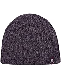 HEAT HOLDERS Mens Original Twist Cable Knit Thermal Winter Soft Knitted Beanie  Hat 95e289e13a39