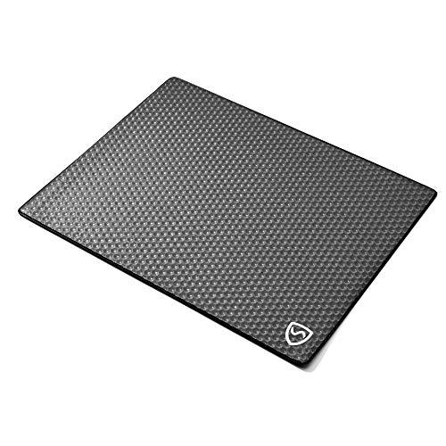 SYB - Laptop-Unterlage - Schutz vor EMF-Strahlung & Hitze (17 Zoll, Schwarz) -
