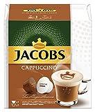 JACOBS Cappuccino Kaffee, Nescafé Dolce Gusto kompatible Kapseln (R) * 3er Pack (3 x 7 Getränke)