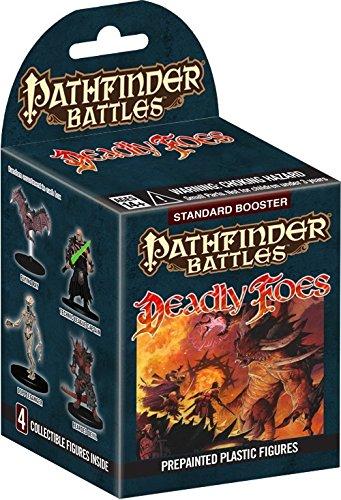 Pathfinder Battles - Deadly Foes Standard Booster (4 pre-painted figures)
