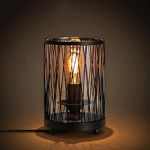 Industrial Wind Retro Eisen Lampe Persönlichkeit Mesh Glas Lampe Nordic