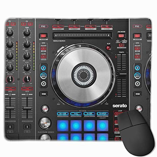 Dj Mixer Pioneer Non-Slip Rubber Mouse Mat Mouse Pad for Desktops, Computer, PC and Laptops 9.8 X 11.8 inch (25x30cm)