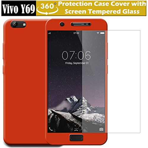 timeless design 98b5b 69ff2 Snazzy 360 Degree Protection Premium Mobile Back Cover for Vivo Y69 ( 2017  Launch)