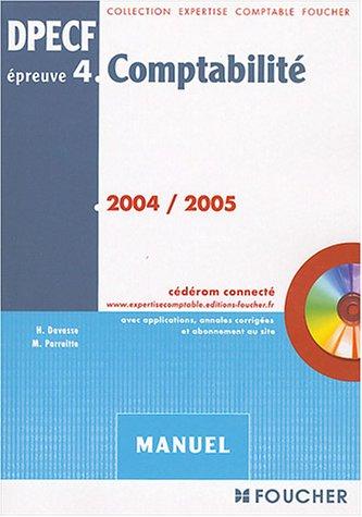 Foucher Expertise comptable : Comptabilit, preuve n 4 DPECF, DPECF (Manuel)