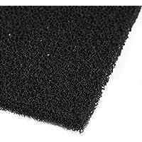 Juego Filtro assorbitore de humo de esponja a carbón activo cuadrado negro 10pcs para soldar