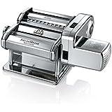 Marcato Atlasmotor Macchina Pasta con Motore, Acciaio Inossidabile, Cromato, 32x20 x25,4 cm