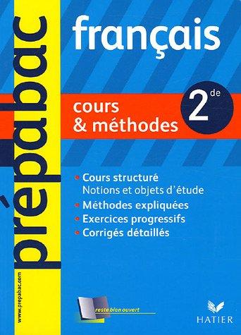 Français 2e : Cours & méthodes par Séverine Charon, Marie Péan