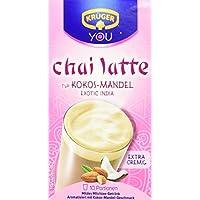 KRÜGER Chai Latte Exotic India Typ Kokos Mandel, 4er Pack (4 x 0.25 kg)