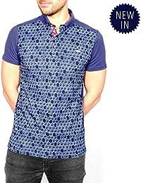 Mens Polos Bewley Ritch Short Sleeve Polo Shirt /'Pilot/' Red Marl