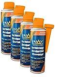 INOX Hochleistungs Dieselpartikelfilter-Reiniger, 4x 250ml - Additiv für alle Dieselmotoren