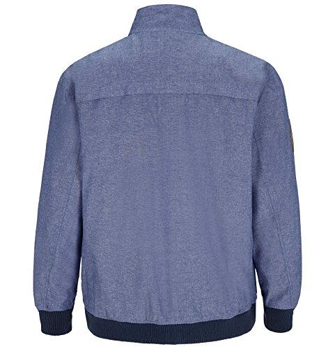 JAN VANDERSTORM Herren Jacke SJARD in Übergröße | Große Größen | Plus Size | Big Size | XL - 7XL Blau
