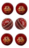 #9: Tima Club Leather Cricket Ball Red (Pack of 6 Balls)