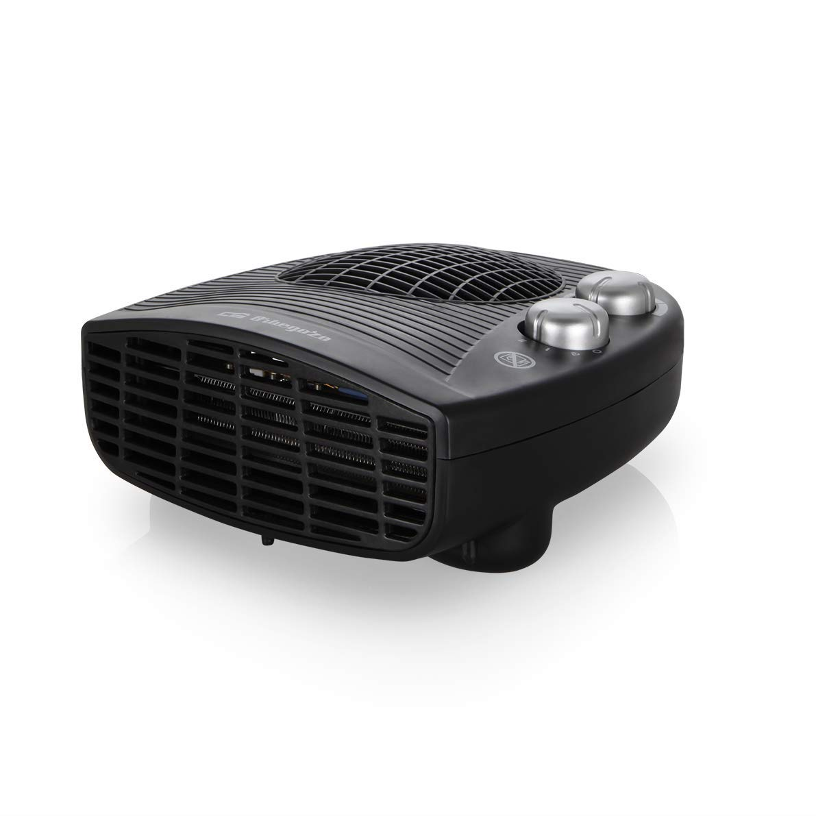 Orbegozo FH-5028 Calefactor eléctrico con termostato ajustable, 2000 W de potencia, 2 posiciones de calor y función ventilador