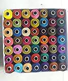 #9: Raghavendra Textiles Thread Spools (49 Shades)